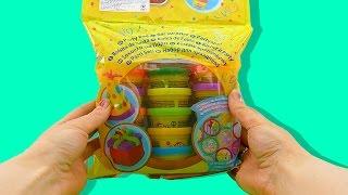 Пластилин Плей До (Play Doh) Видео для детей. Учим цвета - Серия 26(Купить набор можно здесь: http://goo.gl/xTnLRs В наборе для праздника Плей До очень яркий и красивый пластилин. Давай..., 2015-05-21T16:26:58.000Z)