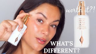 TESTING CHARLOTTE TILBURY MAGIC CREAM LIGHT - EVERYTHING YOU NEED TO KNOW   Beauty's Big Sister