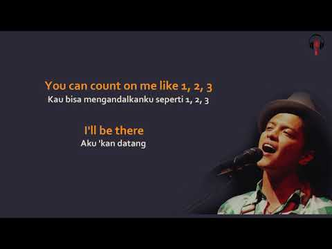 Bruno Mars - Count On Me Lyrics
