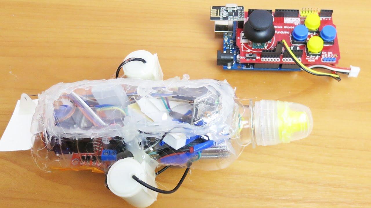 Как сделать игрушечную подводную лодку своими руками