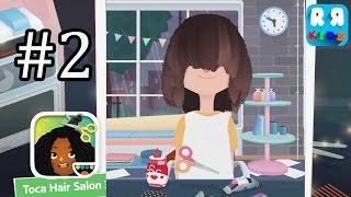 Bölüm 2 Çocuklar için (Toca Boca AB Tarafından) 3 Toca Kuaför - en İyi Saç Kesme Uygulama -