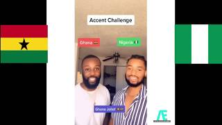 Best TIKTOK Accent Challenge || NIGERIAN???????? Accent Vs GHANAIAN????????  Accent *Try not to Laugh*