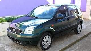 Ford Fusion Automatic 2005 1.4 petrol 80hp