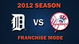 MLB 2K12: Detroit Tigers vs. New York Yankees - Franchise Mode