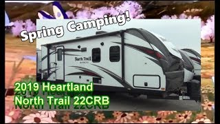 NEW 2019 Heartland North Trail 22CRB | Mount Comfort RV