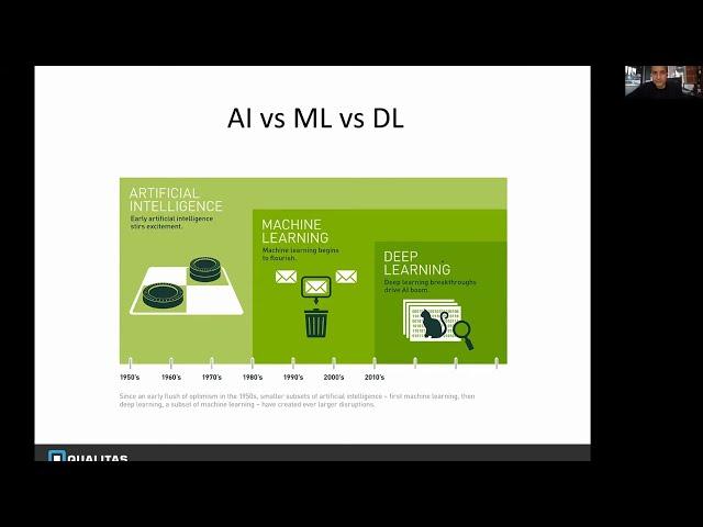 Webinar - Machine Vision and DL in mfg