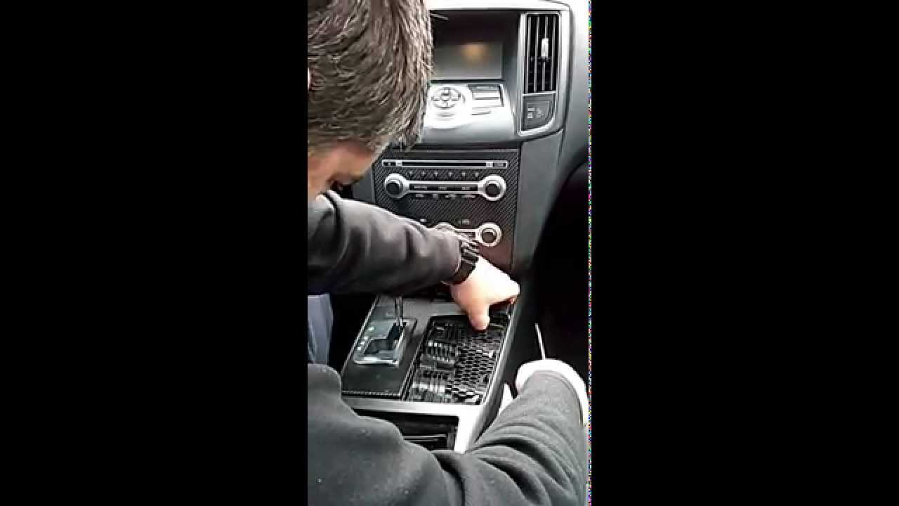 Nissan maxima trim removal - YouTube