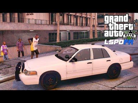 LSPDFR #569 - GANG UNIT PATROL (GTA 5 REAL LIFE POLICE PC MOD) #BADCOPS #DAVISLOCKDOWN