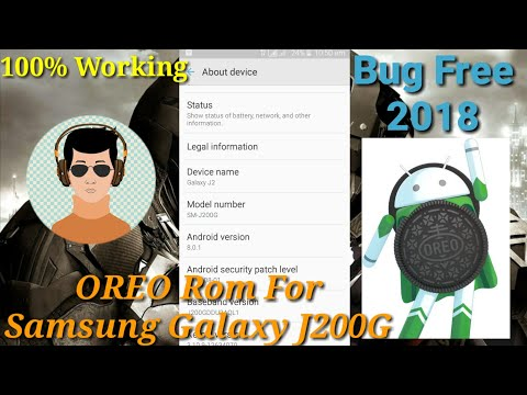 How To Flash Oreo Rom In Samsung Galaxy J200G 100% Working