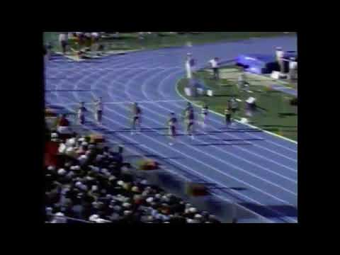 Dawn Sowell 22.04 A Collegiate Record NCAA Provo, Utah 1989