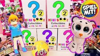 10 mega süße ÜBERRASCHUNGEN | TY Mini Beanie Boos, Playmobil Surprise Bags & L.O.L. Charm Fizz Kugel