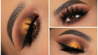 All About Fall Smokey Eye | Full Face Makeup Look