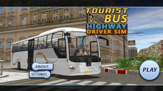 Tourist Bus Highway Driver Sim | Android Gameplay FHD