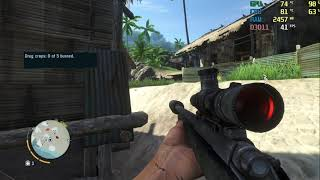 far cry 3 - stealth mission kick the hornet's nest