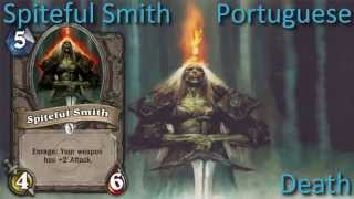 Spiteful Smith card sounds in 12 languages -Hearthstone✔