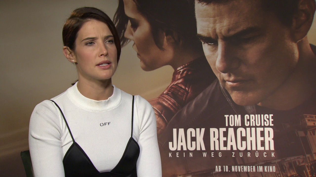 Cobie Smulders On Kissing Tom Cruise Film Inside