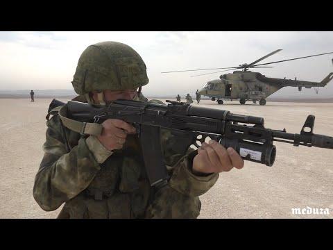 Российская военная полиция на бывшей американской базе в Сирии