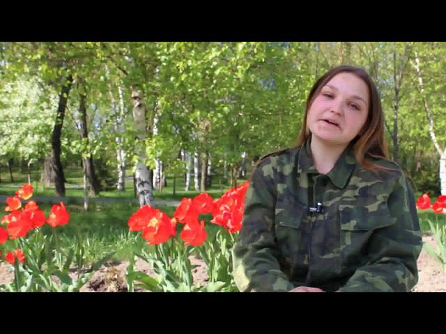 Изображение предпросмотра прочтения – ЕлизаветаКурганская читает произведение «Весна 45-го» ИраидыАндреевныМордовиной