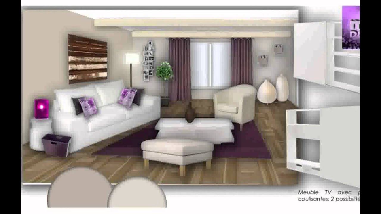 deco de salon salle a manger youtube. Black Bedroom Furniture Sets. Home Design Ideas