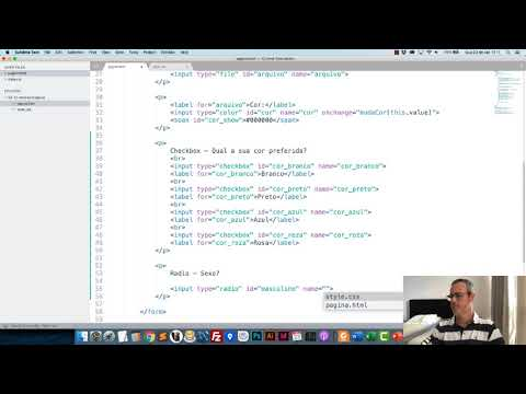 Serie Desenvolvimento Web - Formulários HTML - Aula 5