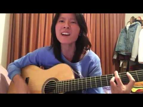 Darkside - Blink-182 (Acoustic Cover) By Christine Yeong
