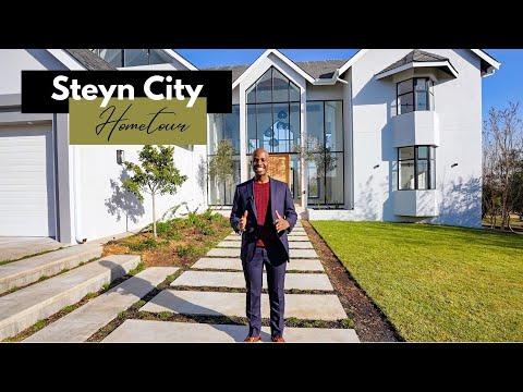 Inside a Modern Transitional Style Home   Steyn City   Johannesburg   South Africa