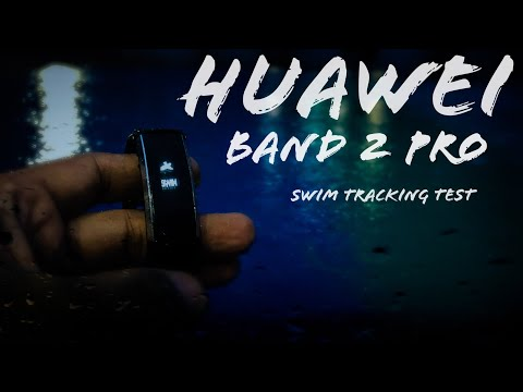 Huawei Band 2 - Swim Tracking Test (Real Life)