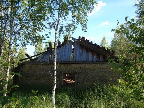 Поход в заброшенный лагерь ГУЛАГа Пичуйка #1