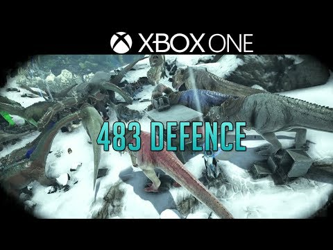 THE GREAT DEFENCE OF 483 - Ark Official Server Series - Xbox One