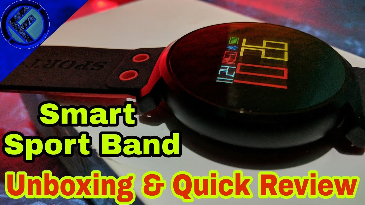 New K2 Hd Color Smart Sport Band Unboxing & Quick Review 2018 by Funlexse