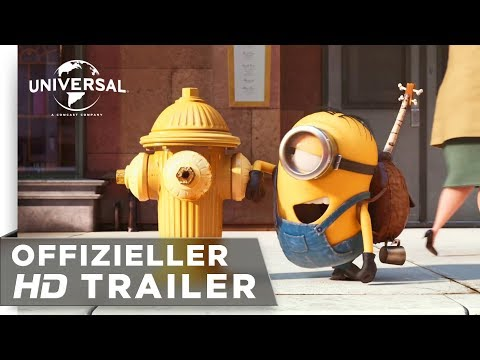 Minions - Trailer #1 deutsch / german HD