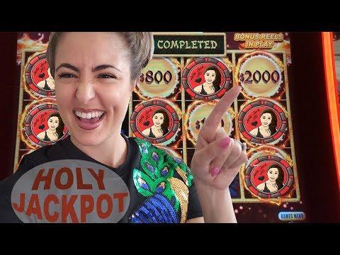 MASSIVE Handpay Jackpot auf Dragon Link Spielautomat | Kasinospiel in Las Vegas