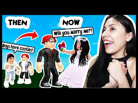 I GOT MARRIED IN ROBLOX TO MY CHILDHOOD CRUSH! - Roblox Role