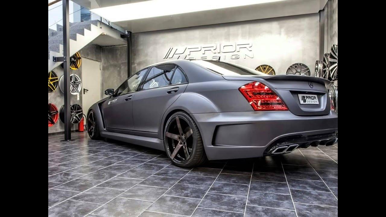 2014 Prior Design Mercedes Benz S Class V3 Widebody Youtube