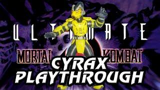 Ultimate Mortal Kombat 3 Arcade Cyrax Playthrough @720p 60fps thumbnail