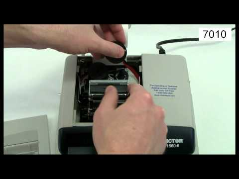 Victor Technology - How To Change A Printing Calculator Ink Ribbon