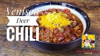 Deer Chili Recipe - Deer Meat - Crock Pot Venison Chili Video