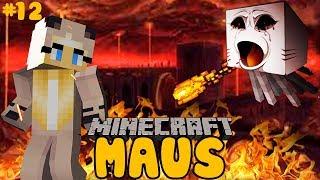 WIR FLÜCHTEN AUS DER FESTUNG! ✿ Minecraft MAUS #12