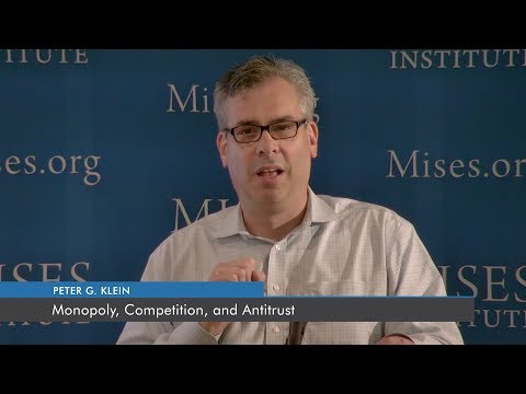 Monopoly, Competition, and Antitrust | Peter G. Klein