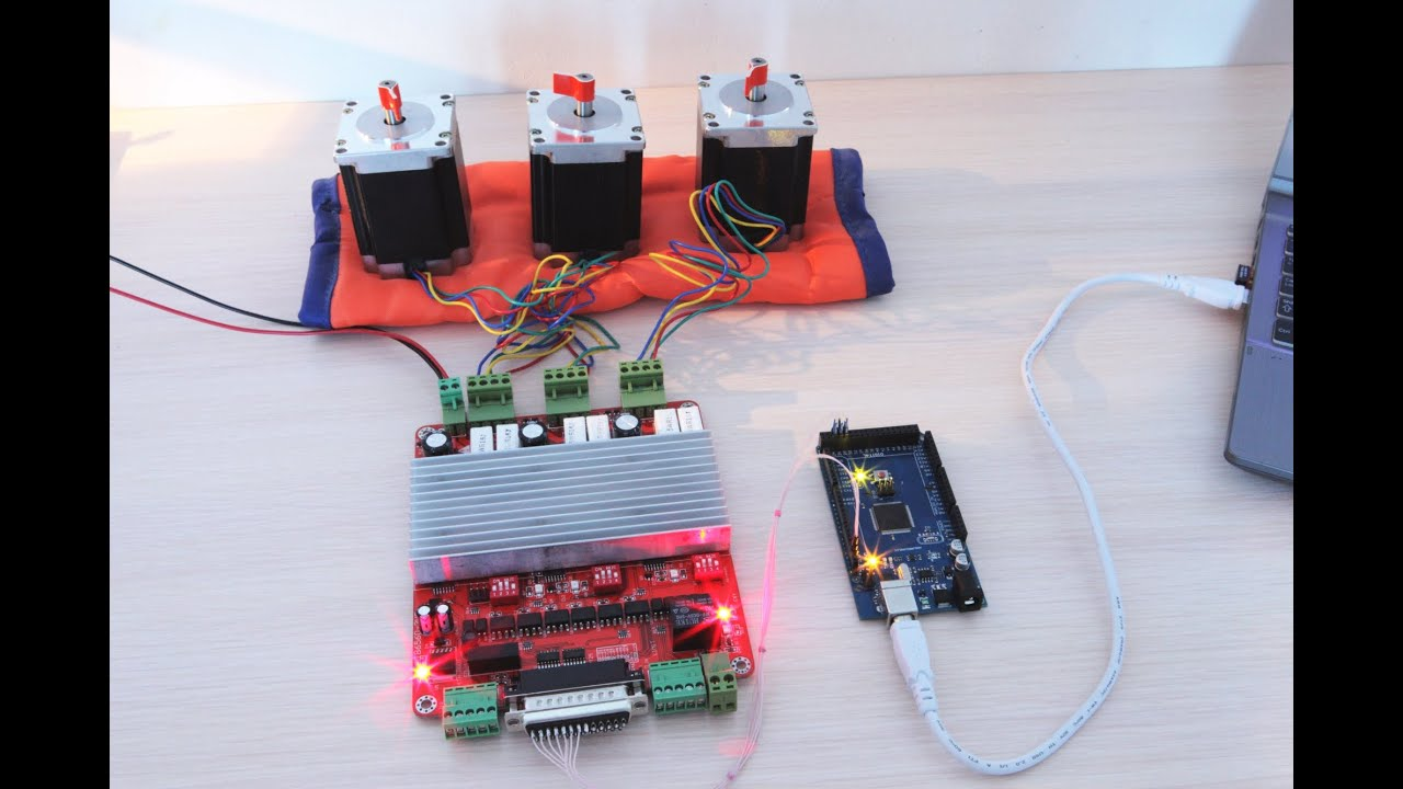 Stepper Axis 4 Motor Controller