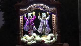 Харинама вокруг Ведического Планетария, Маяпур, 4 февраля 2018 года
