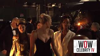 Jourdan Dunn and Karlie Kloss at Met Gala After Party