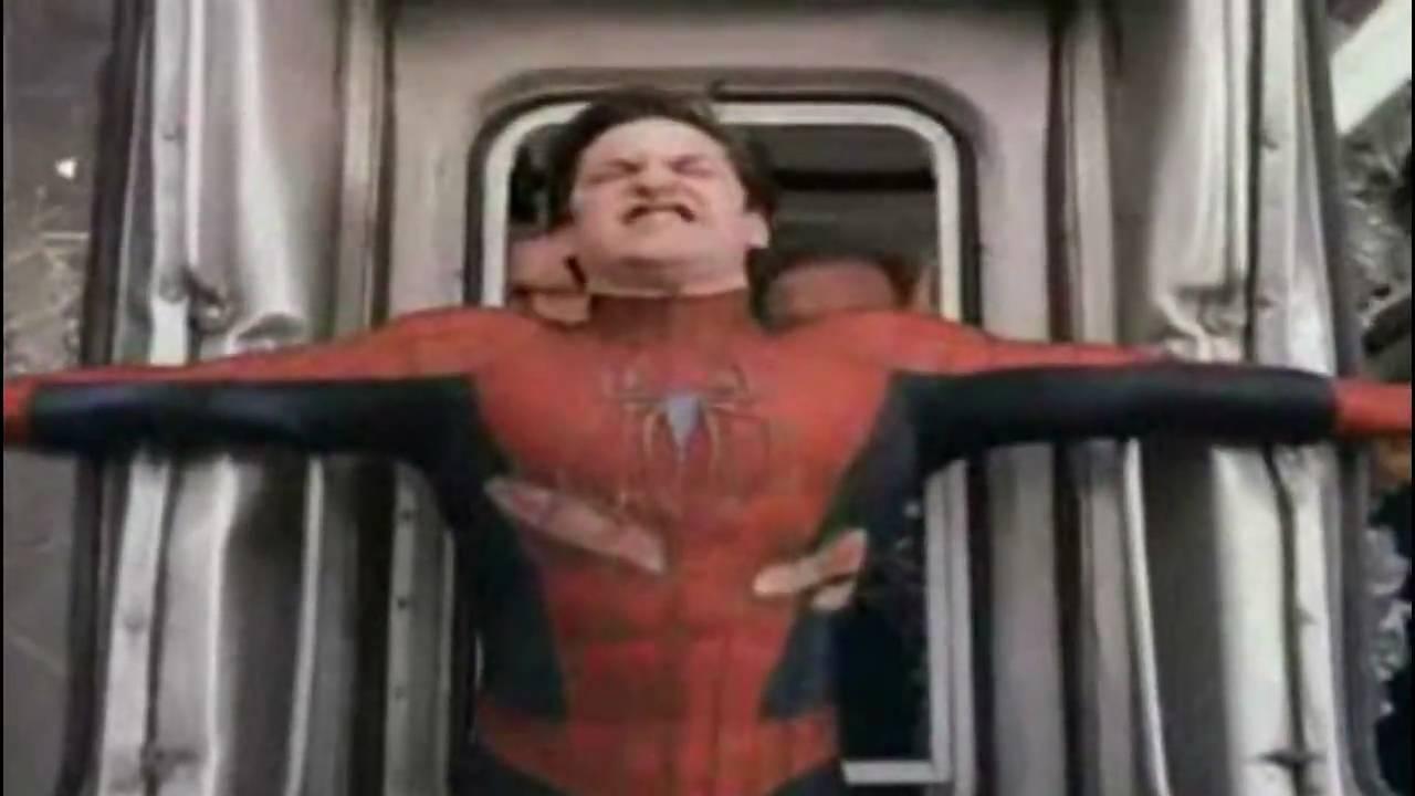 spiderman 2 train scene ending a relationship