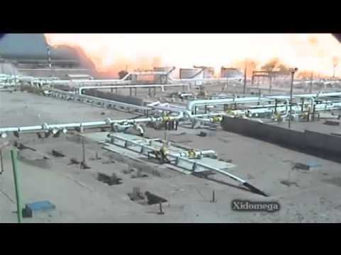 Big explosion in a Chemical waste plant 22 Dec 2012