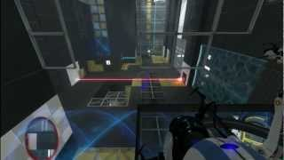 Portal 2 - Co-Op - Course 6 Art Therapy - Chamber 7