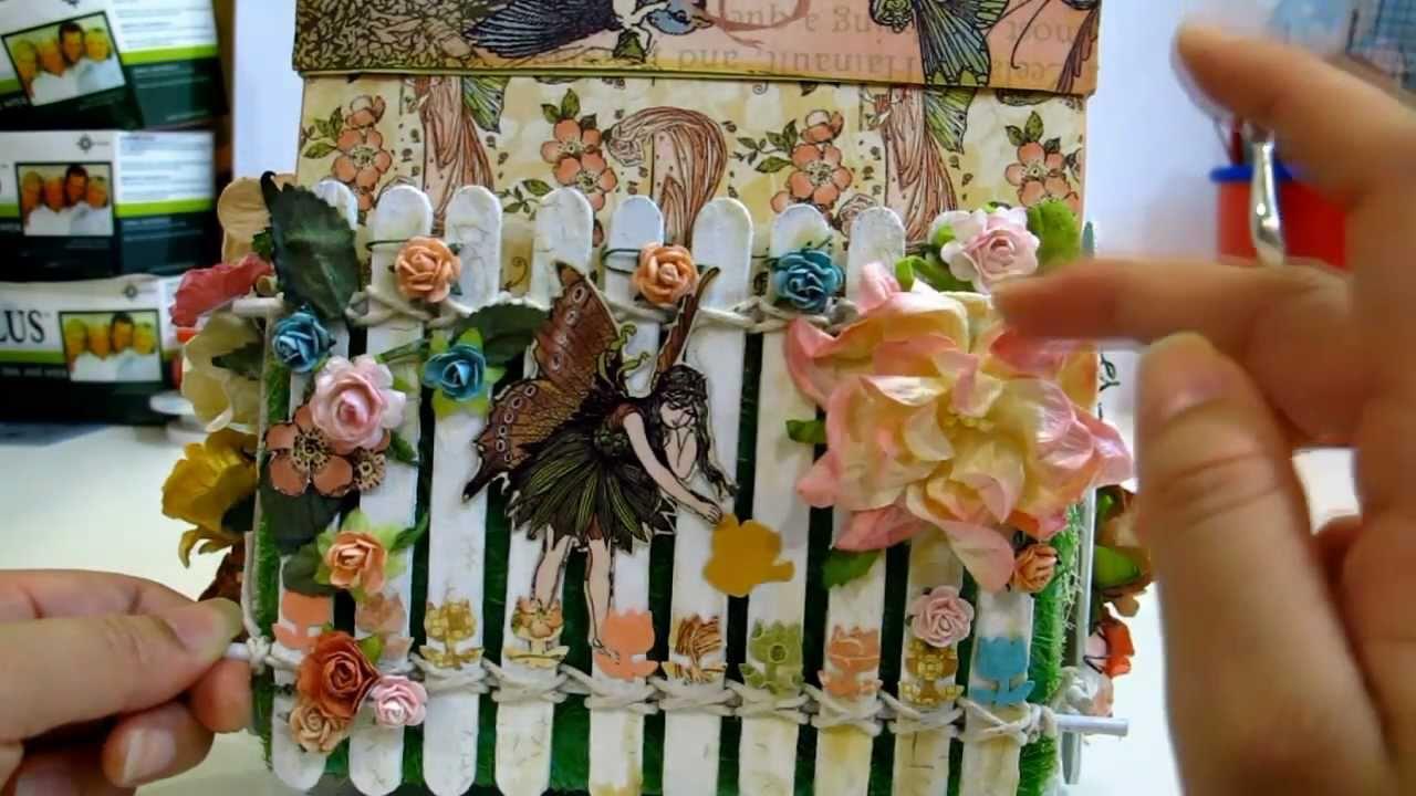 Magical Explosion Box w Once Upon Springtime: IAMROSES \