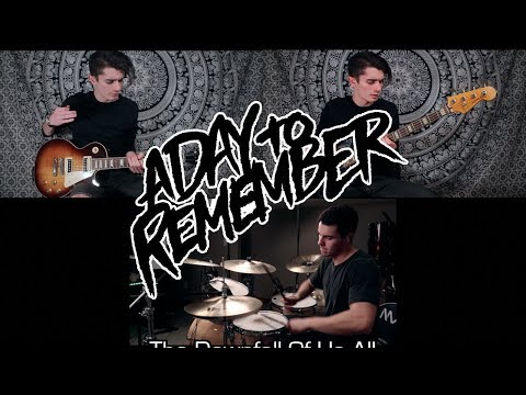A Day To Remember - The Downfall Of Us All (Guitar, Bass, & Drum Cover feat. Michael McKerracher)