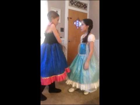 Best Friends Singing For the First Time in Forever Reprise from Frozen