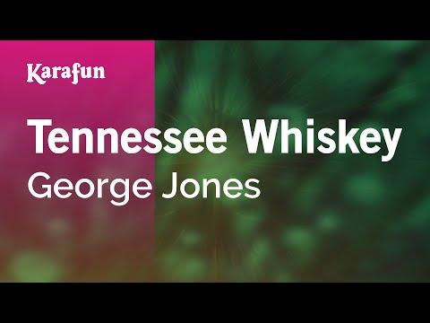 Karaoke Tennessee Whiskey - George Jones *