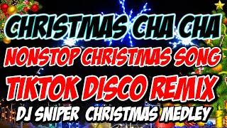 CHRISTMAS SONGS CHA-CHA BALLROOM EDITION 2021 NONSTOP | DJSNIPER DISCO REMIX